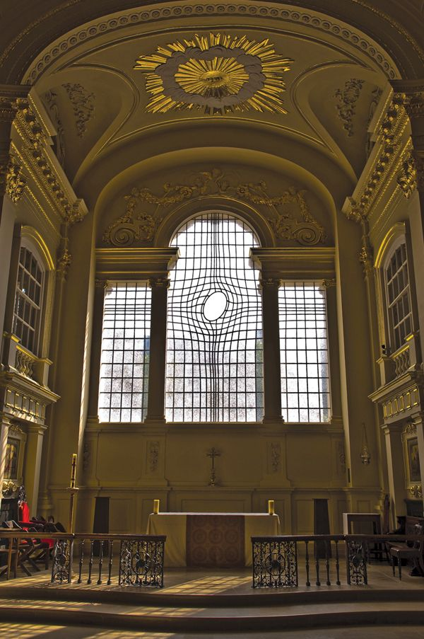 East Window For St Martin In The Fields Church London