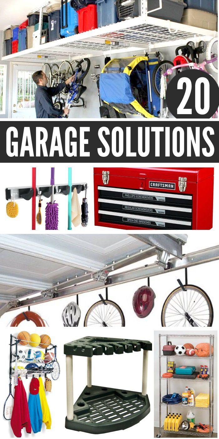 clever garage organization solutions