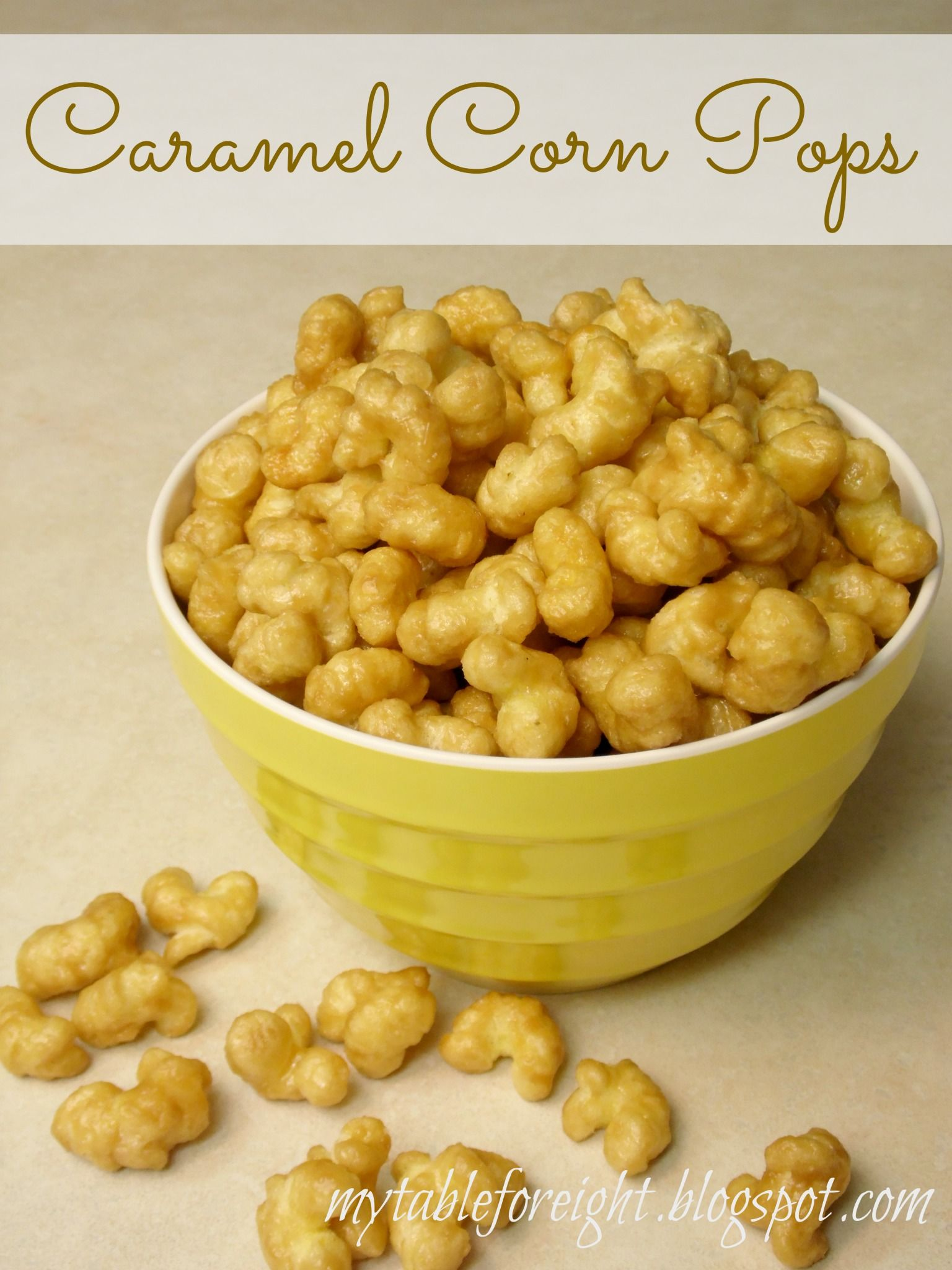 Caramel corn pops recipe corn pops caramel corn and cereal ccuart Choice Image