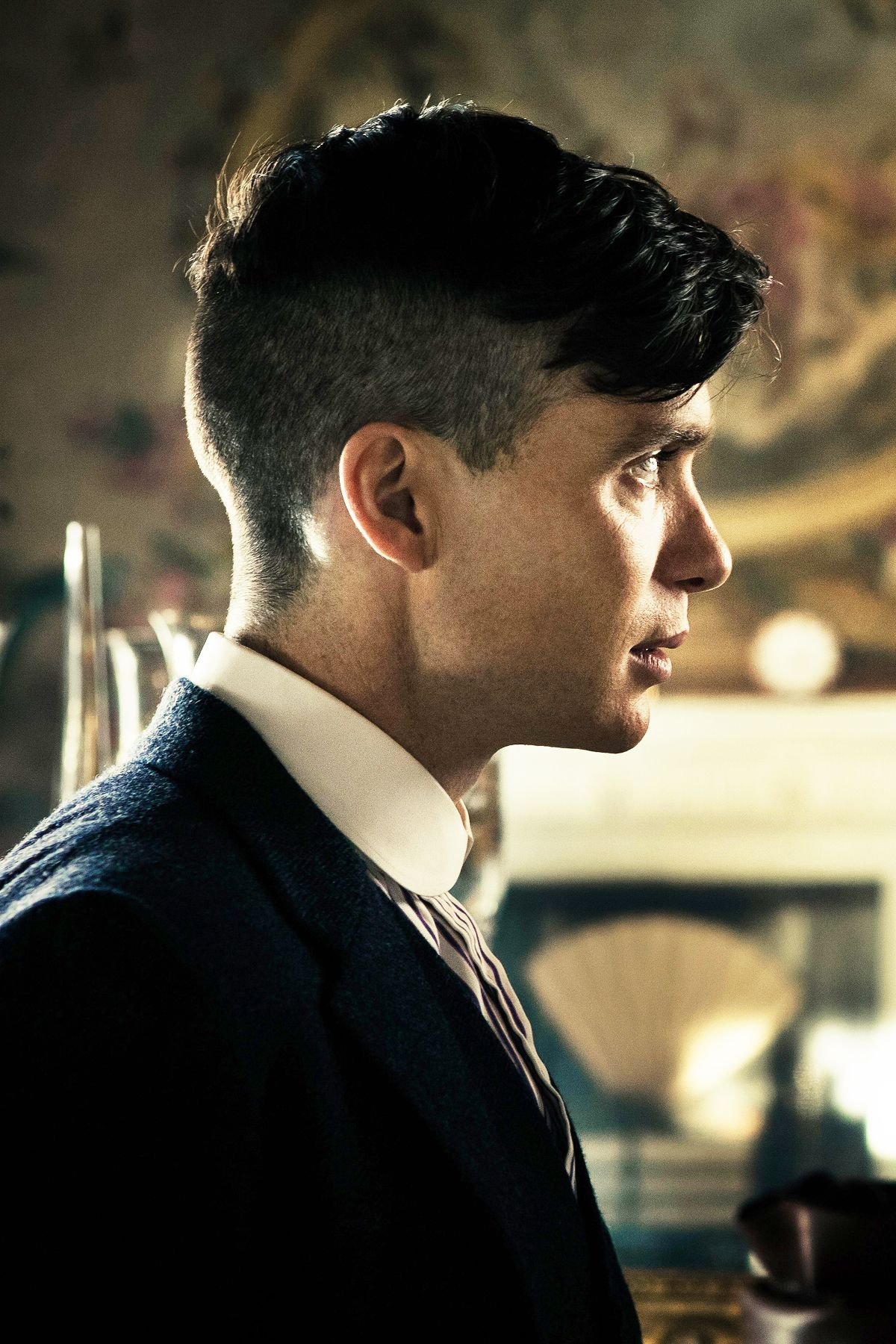 Cillian Murphy As Thomas Shelby In Peaky Blinders S5 Peaky Blinder Haircut Peaky Blinders Hair Cillian Murphy Peaky Blinders