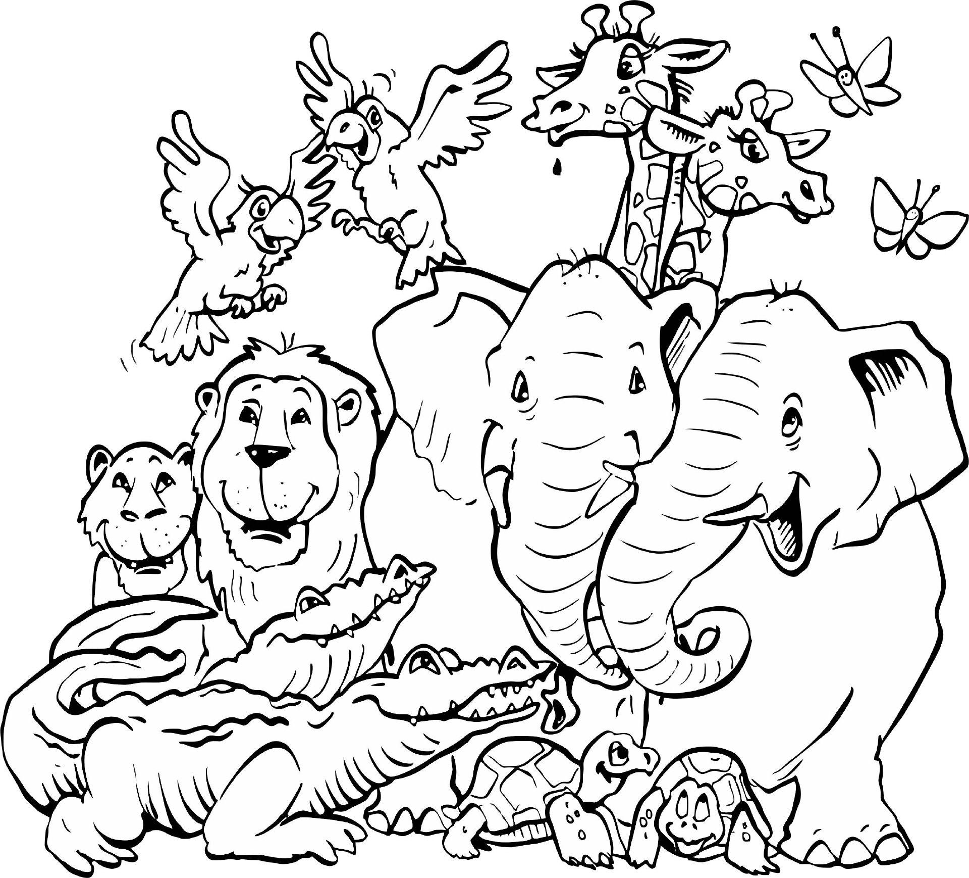 elefanten (mit bildern) | ausmalbilder tiere, ausmalbilder