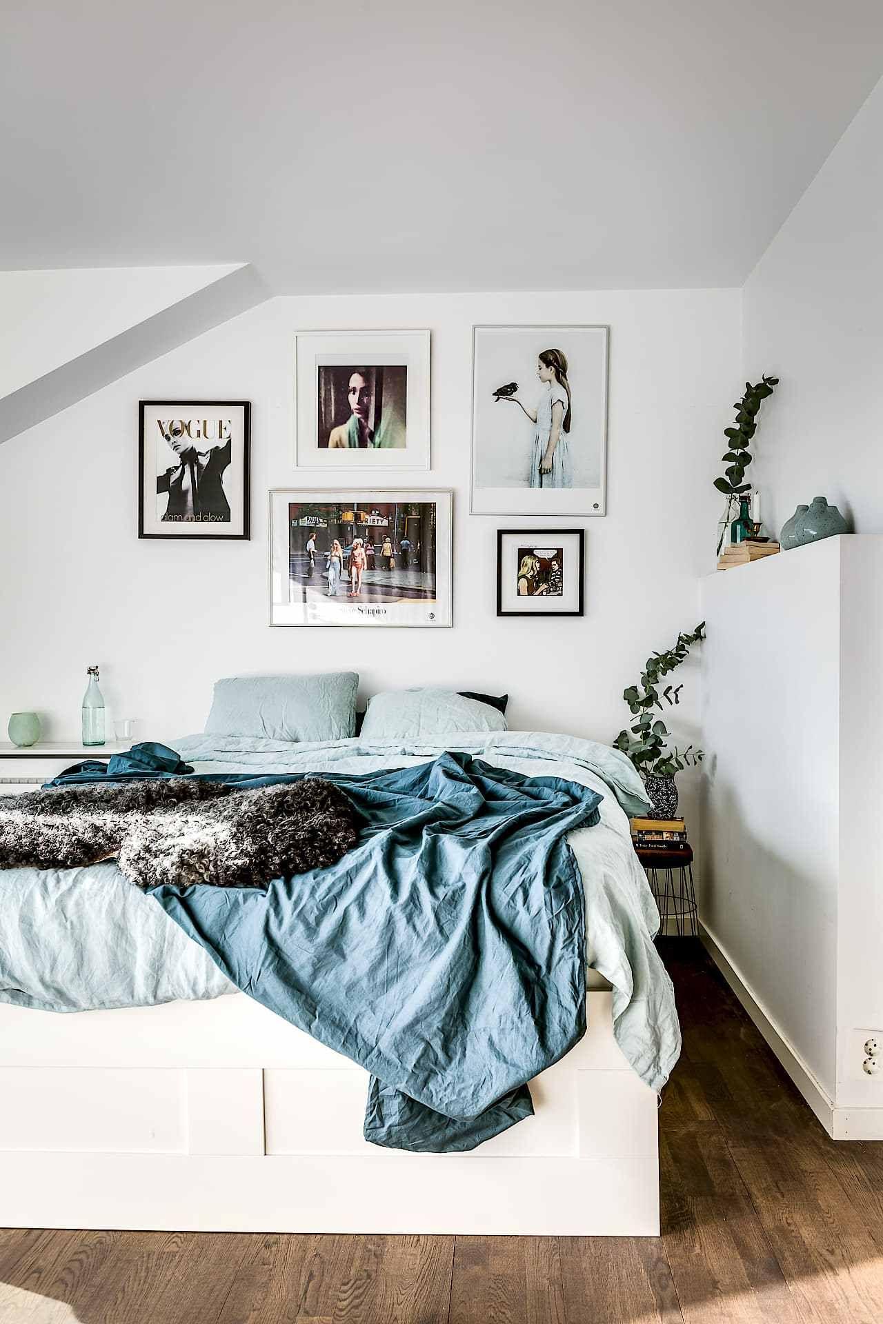 Suelo de madera oscura | Dormitorio, Decoración de interiores y ...