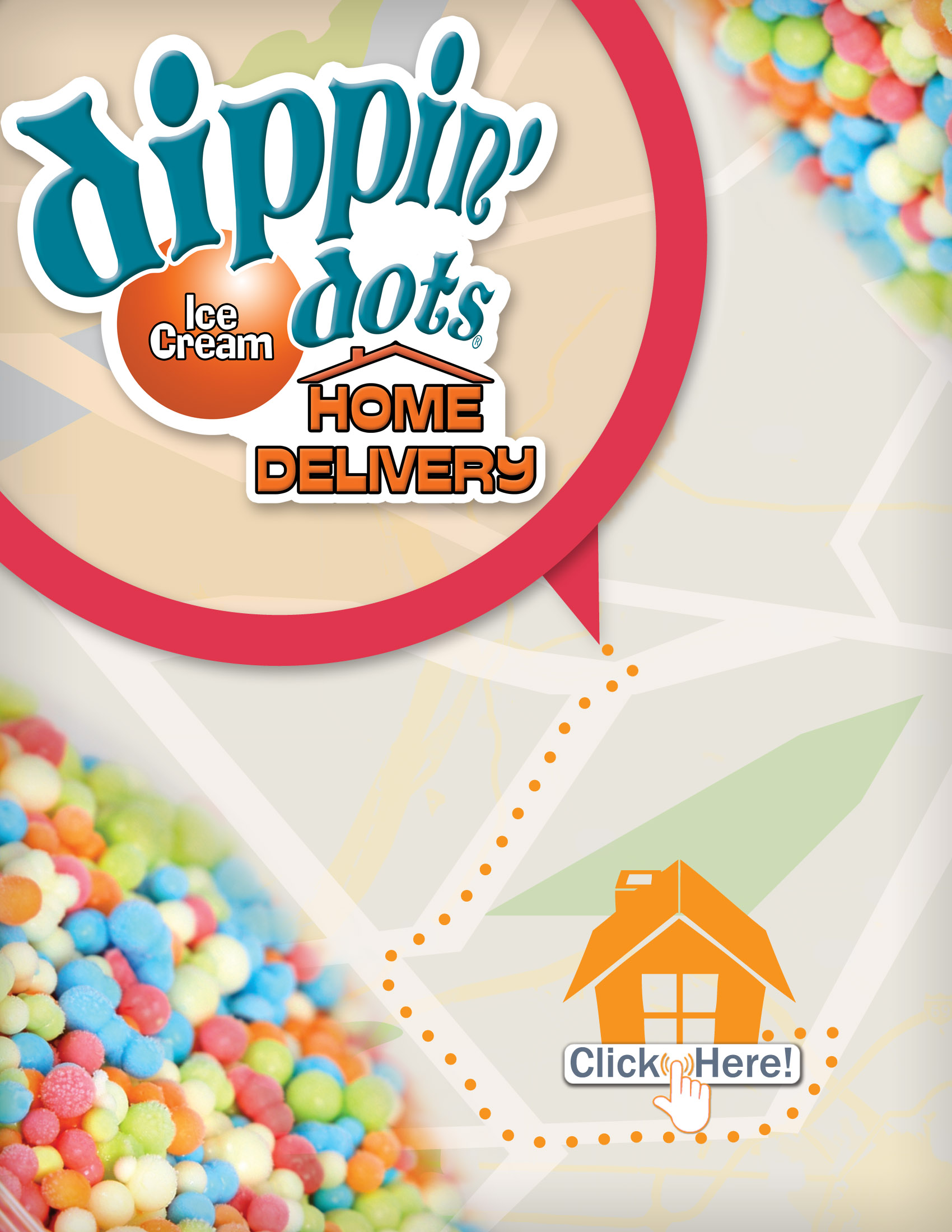 Buy Any Flavor Of Dippin Dots Online For Delivery Right To Your