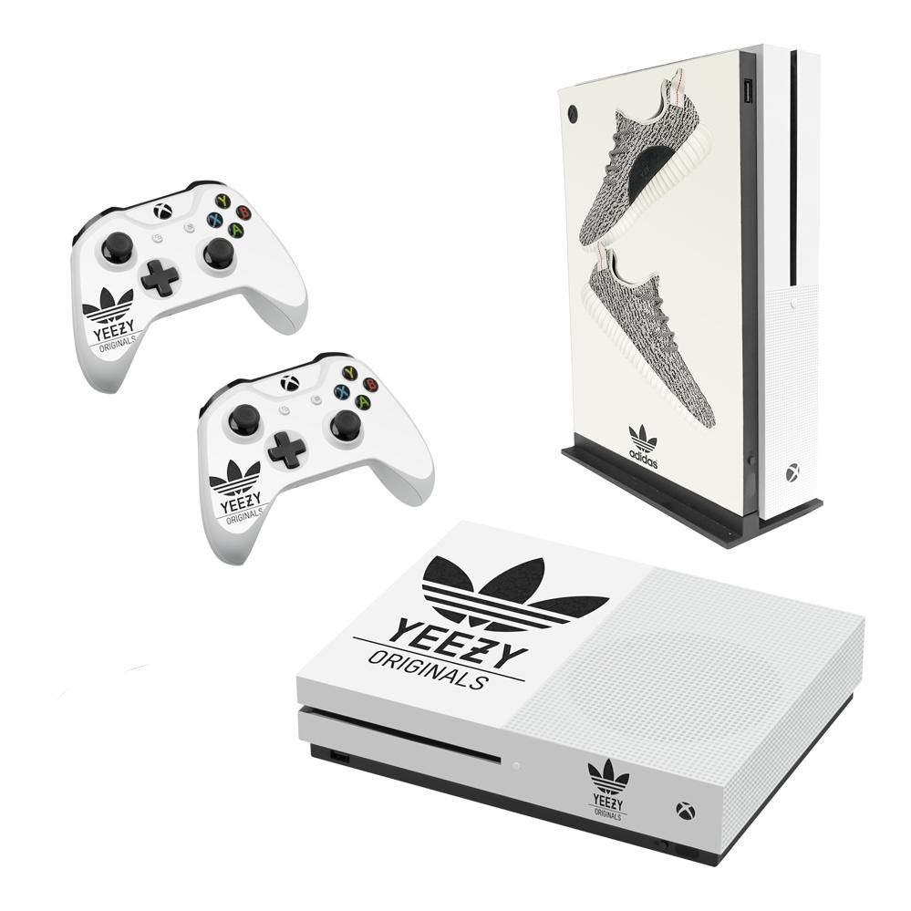 Adidas Yeezy Decal Style Skin Set Fits Xbox One S Console And 2