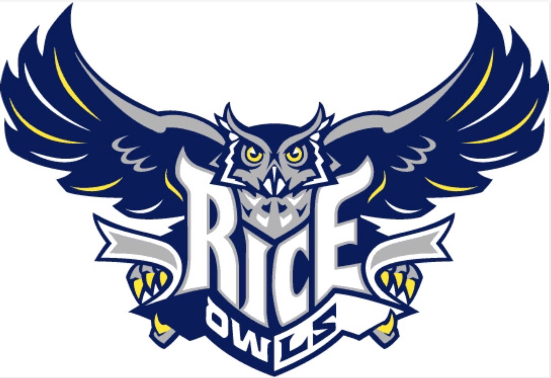 """Rice Owls Full Size 12/"""" X 30/"""" College NCAA Pennant"""