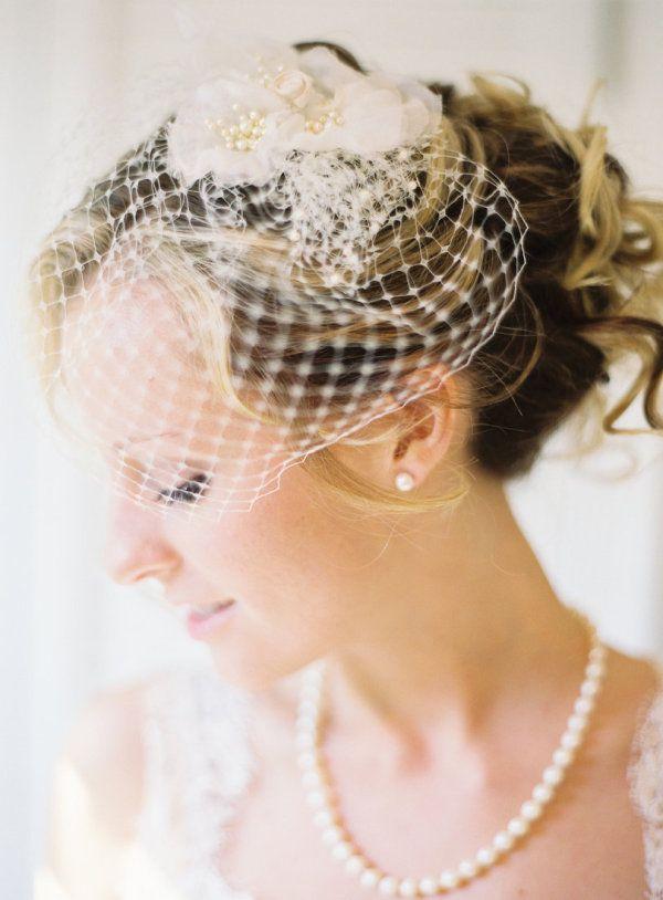 Von Zielinski Graul Wedding Vintage Wedding Birdcage Veil Wedding Veils Headpieces Wedding Hairstyles With Veil