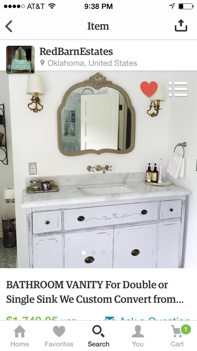 Pin by Maria Dahnke on Rooms Bathroom, Master Vanity