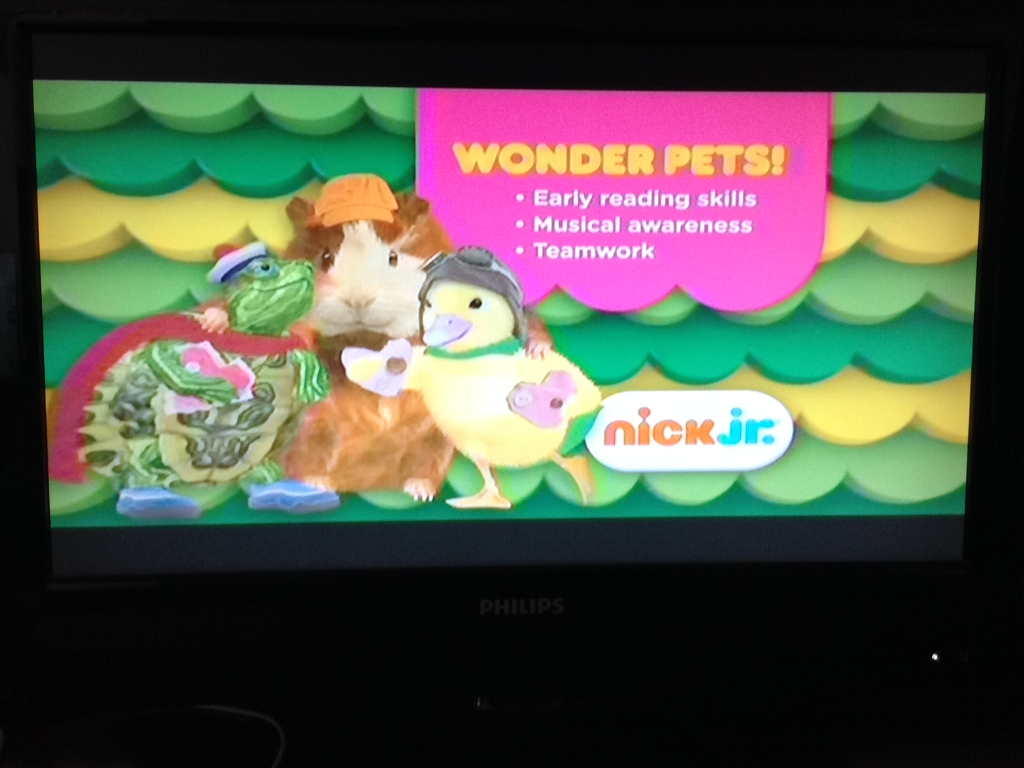 Wonder Pets On Nick Jr Wonder Pets Early Reading Skills