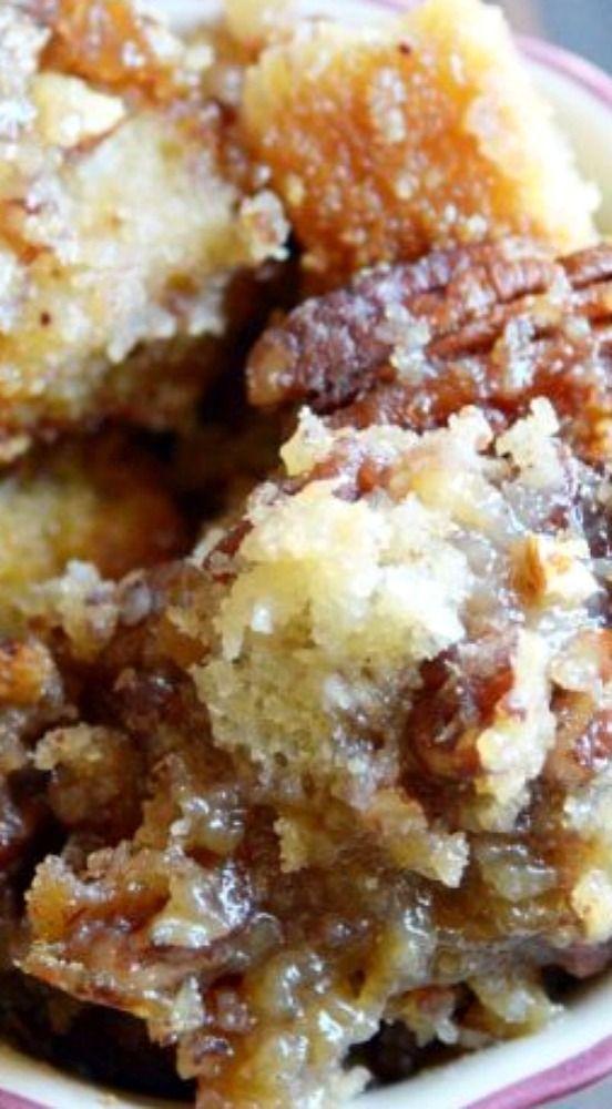 Pecan Pie Bread Pudding - Something Swanky Dessert