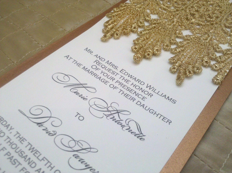 The Marie Antoinette Wedding Suite. $3.99, via Etsy. | Weddings ...