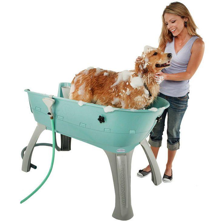 Dog Grooming Table Stand Tubs Bath Station Washing Equipment