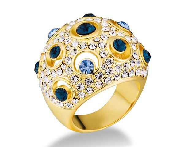 beauteous golden ring sight - magnificent Gold Jewlery for women - Fashion Jot- Latest Trends of Fashion
