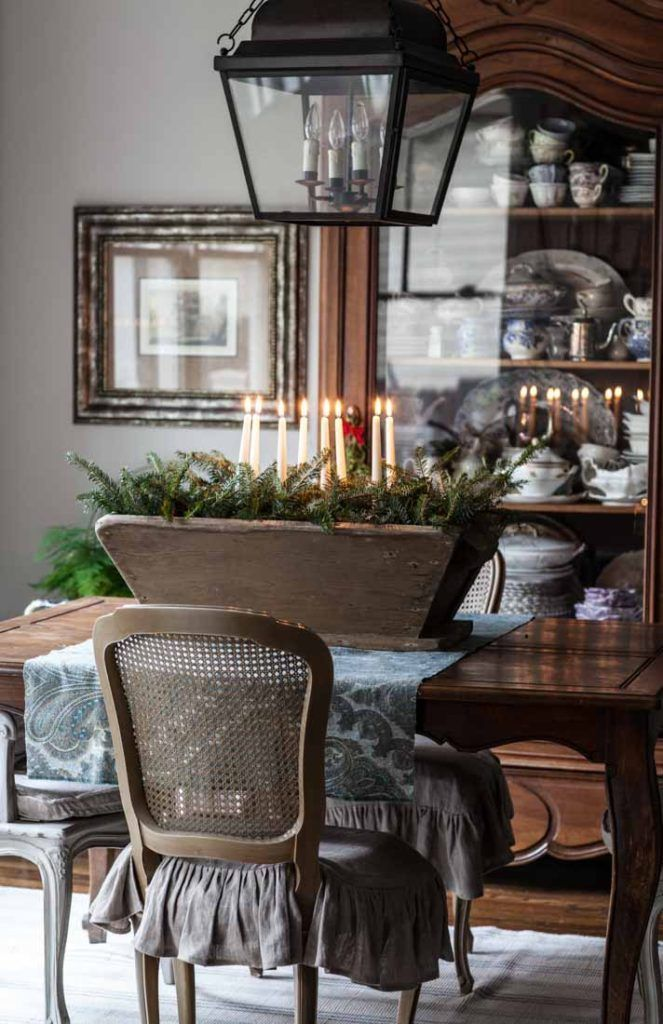 Photo of French Country Friday- Christmas Home – French Country Cottage