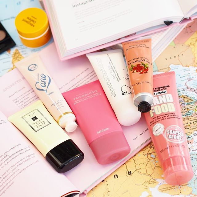 Image result for hand cream flat lay