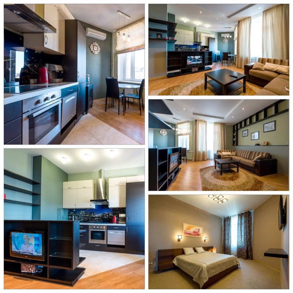 Modern style 2room apartment with a balcony rental in a