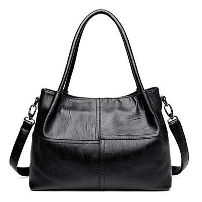 c20346dddb73 Famous Brand Ladies Hand Bags PU Leather Women Bag Casual Tote Shoulder  Bags 2018 Sac New