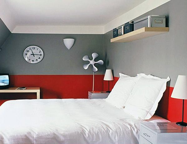 Red And Gray Bedroom Design Ideas Red Bedroom Decor Red Bedroom