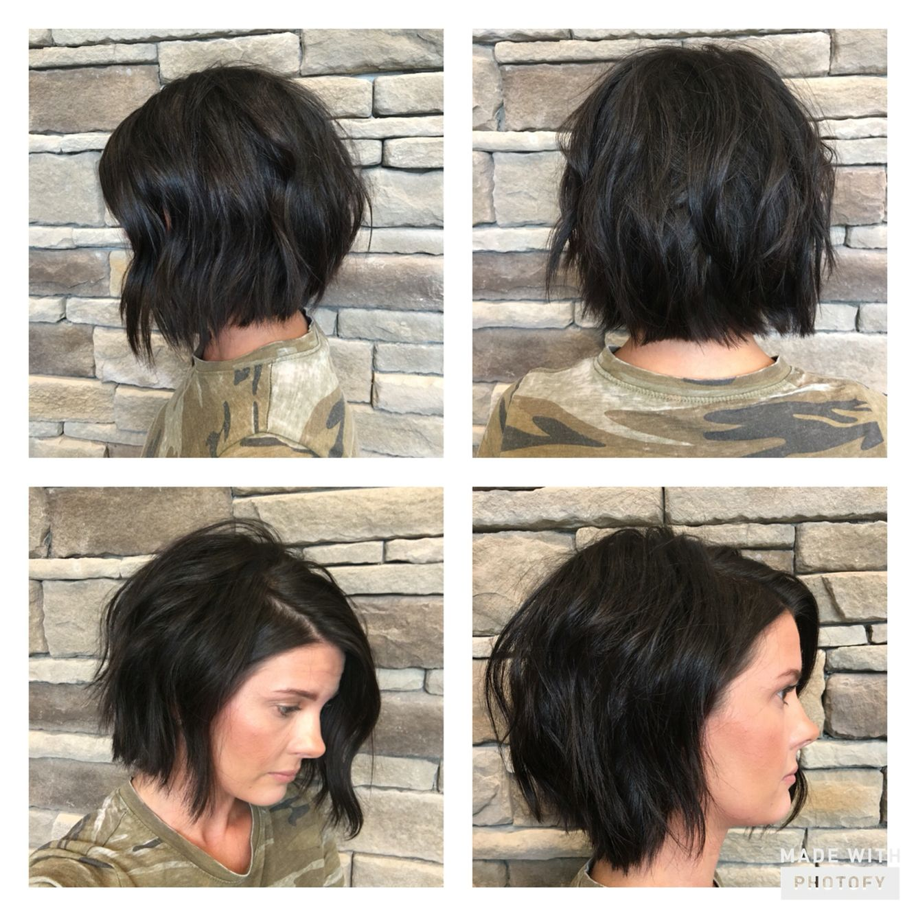 Texturized Modern Bob Studio603 Short Styles Hair Hair Cuts