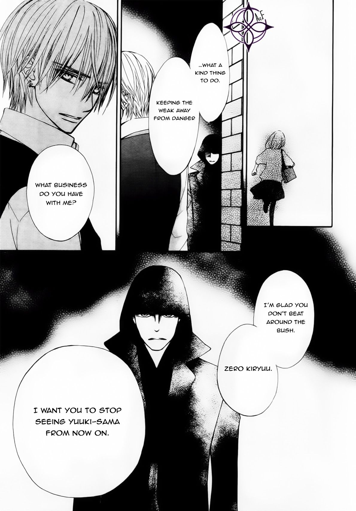 Read manga Vampire Knight Memories Vol.002 Ch.001 online