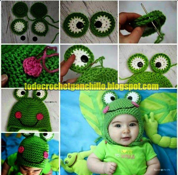 Todo crochet | tejidos | Pinterest | Cómo tejer, Como tejer gorros y ...