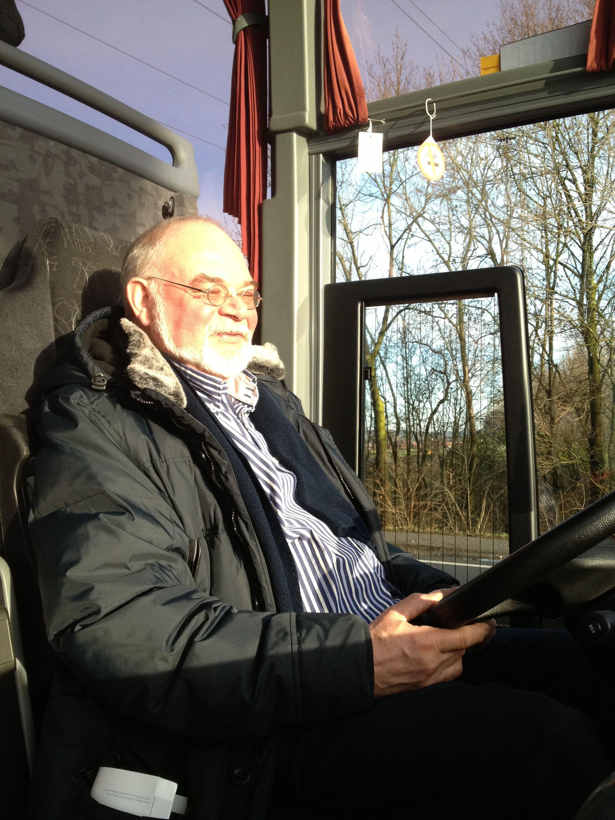 Peter Brouwer Behind The Wheel