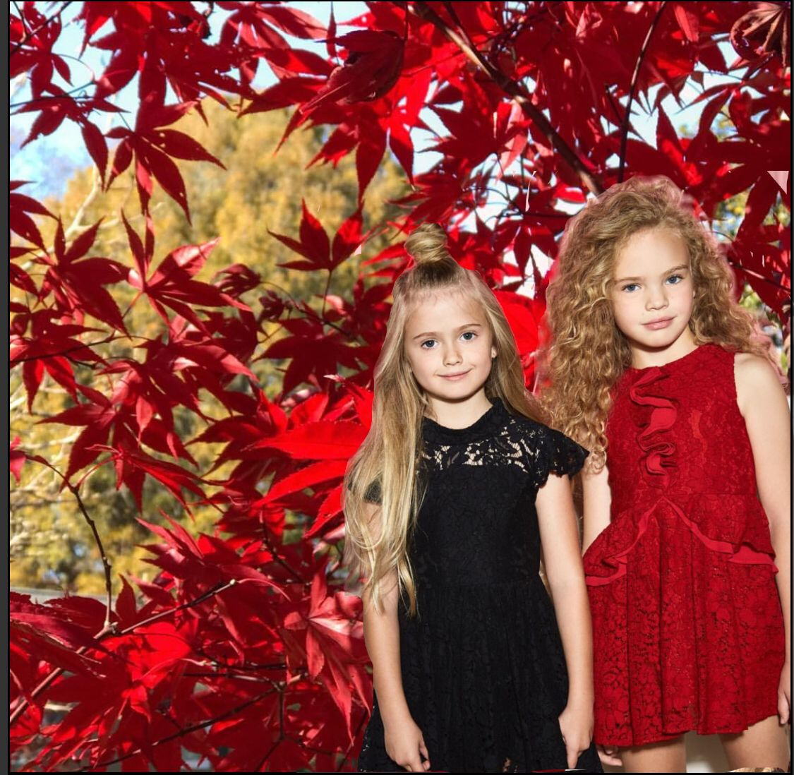 Tween Girl Fashion Black: Red And Black Lace Dresses For The Holidays #christmas