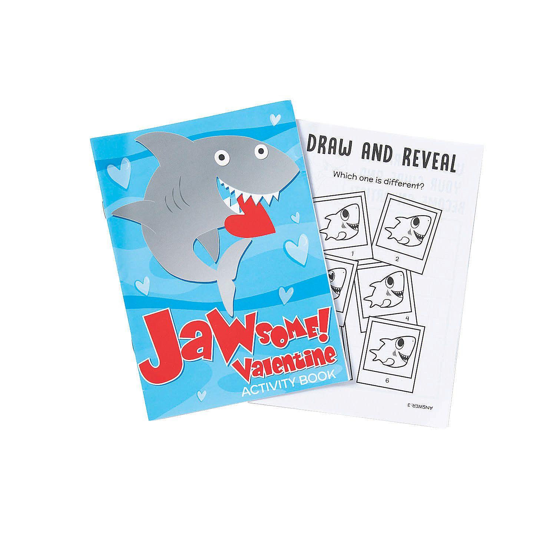 Valentine Shark Activity Books Shark activities, Book