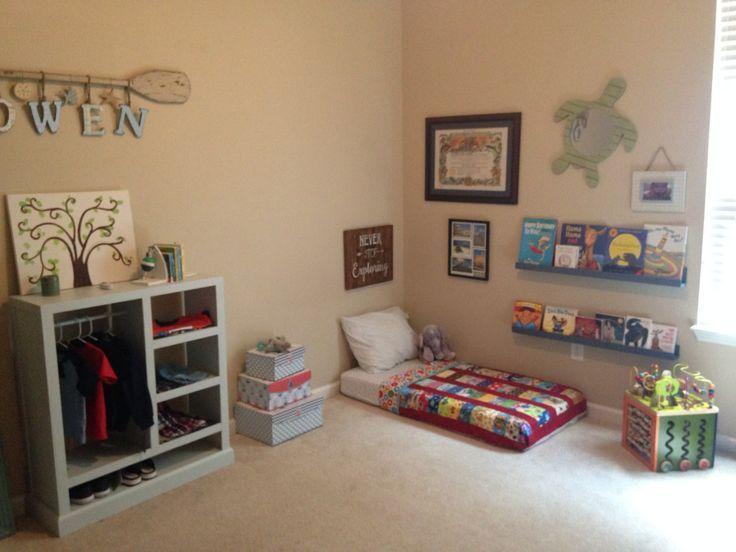 Kleinkind-Montessori-Schlafzimmer #toddlerrooms