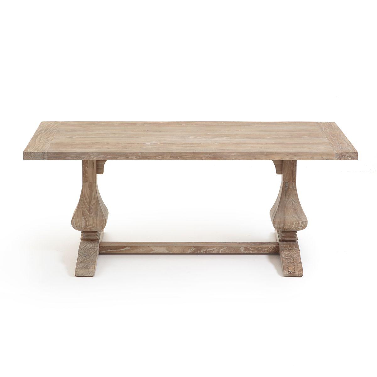 Table Rectangulaire Orme Massif Lorette Table Massif Et La Beaute Naturelle