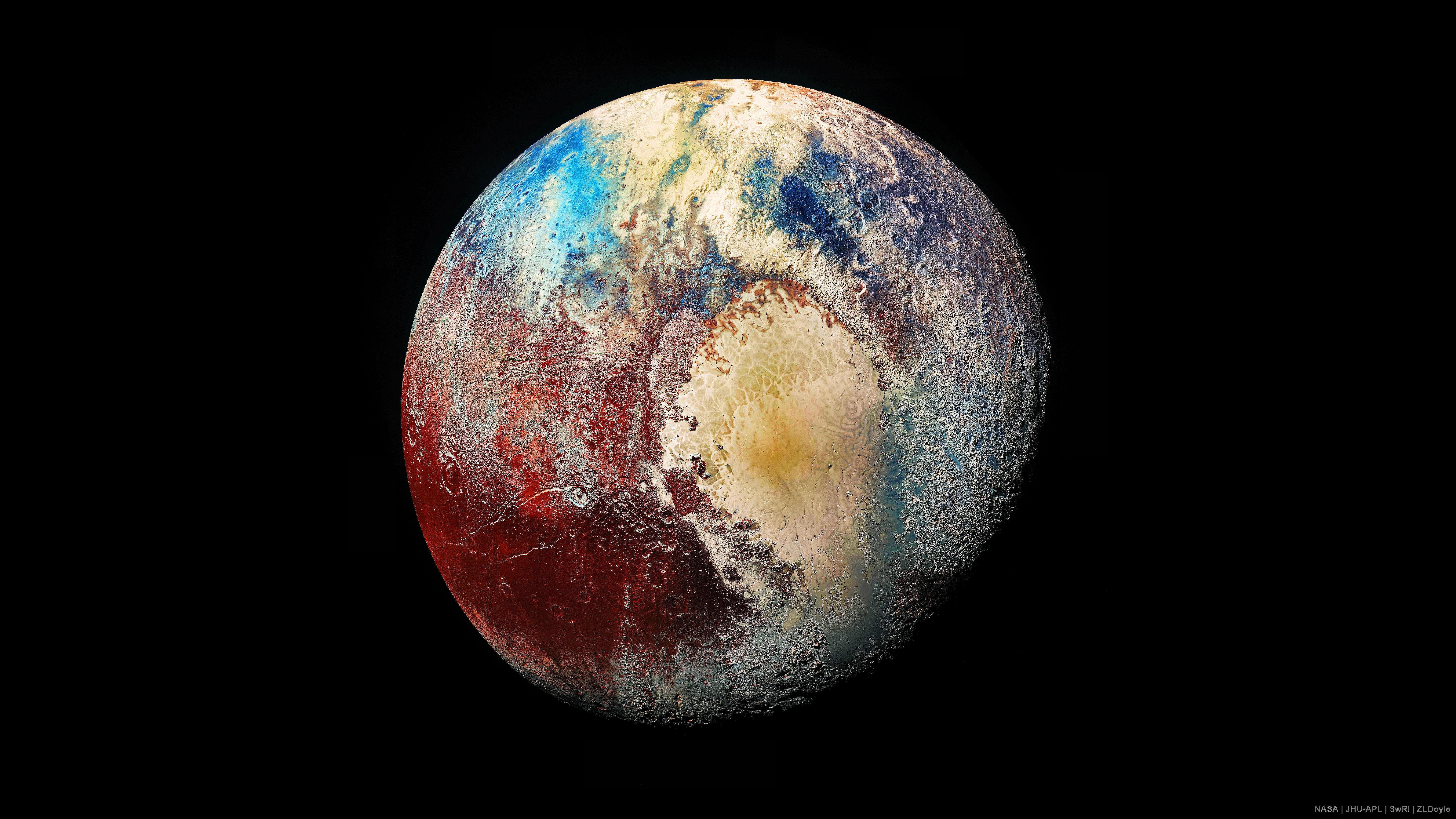 Planet Earth Planet Pluto Space Universe 8k Uhd 8k 8k Wallpaper Hdwallpaper Desktop Black Background Wallpaper Qhd Wallpaper Hd Wallpaper