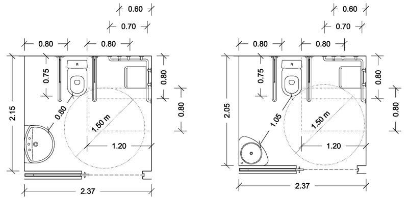 Resultado de imagen de medidas ducha minusvalido for Duchas para minusvalidos