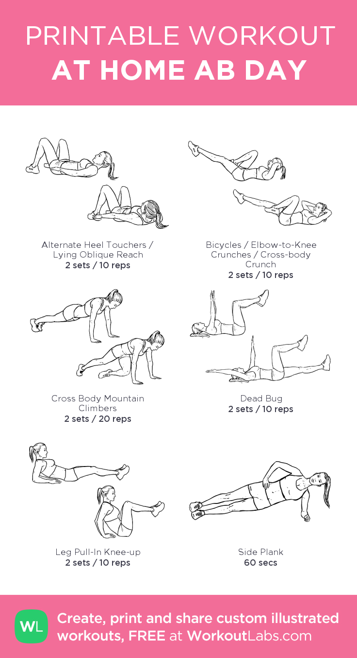 AT HOME AB DAY · WorkoutLabs Fit