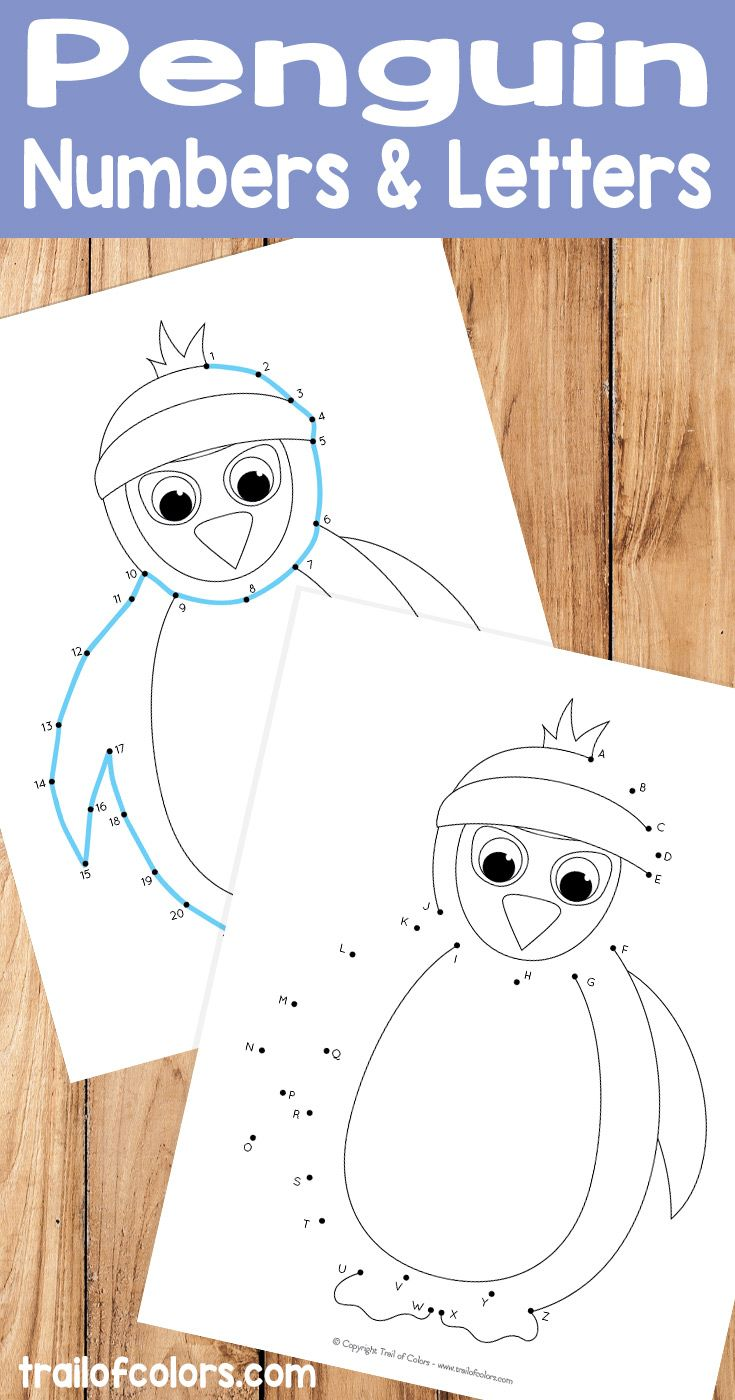 penguin dot to dot winter connect the dots must do crafts and activities for kids free. Black Bedroom Furniture Sets. Home Design Ideas