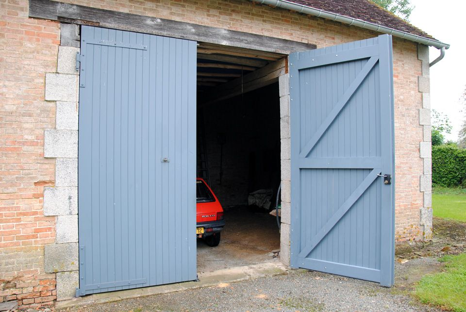 Porte de garage hauteur requise porte de garage for Porte grange