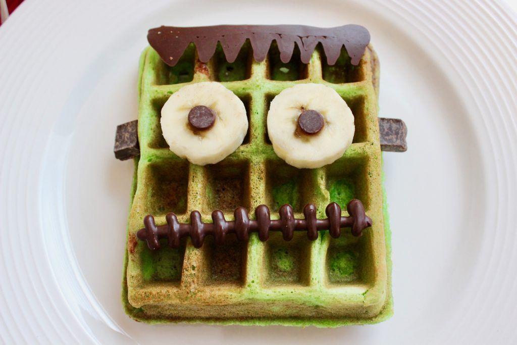 Halloween Buttermilk Waffles Recipe In 2020 Waffles Epicure Recipes Buttermilk Waffles