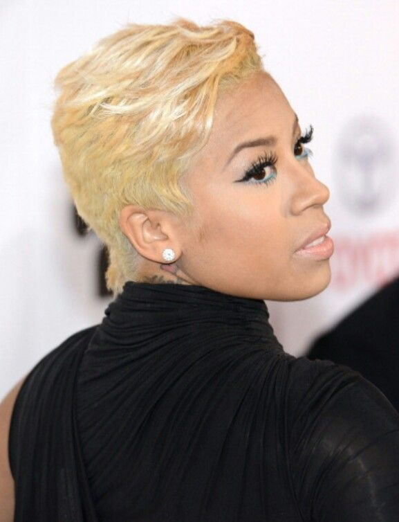 keyshia cole dope hair cutz pinterest. Black Bedroom Furniture Sets. Home Design Ideas