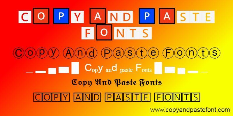 Copy Paste Fonts Fancy Font Generator In 2021 Copy And Paste Fonts Aesthetic Fonts Fancy Font Generator