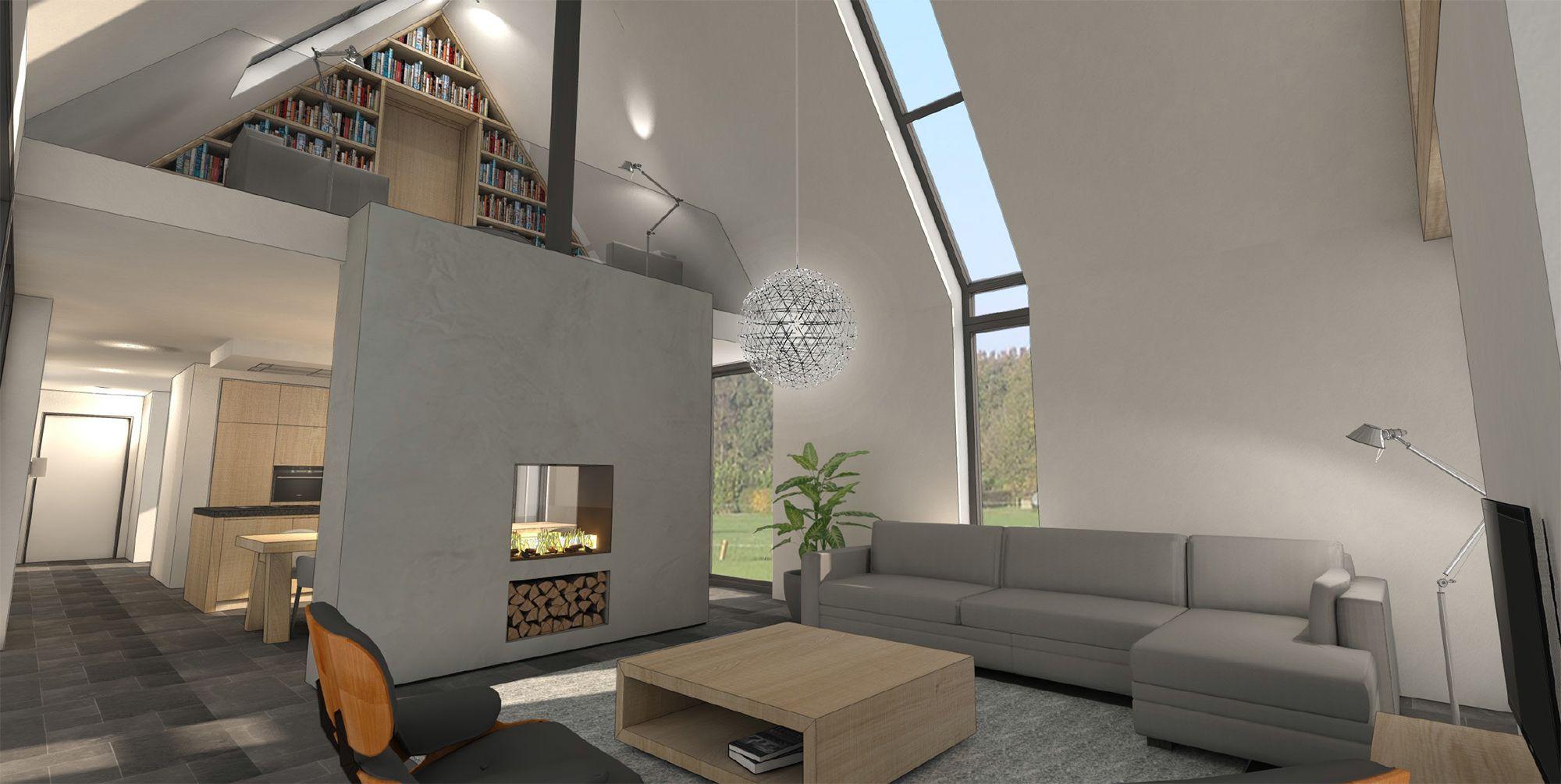 Afbeeldingsresultaat voor schuurwoning interieur | Ideeën voor het ...