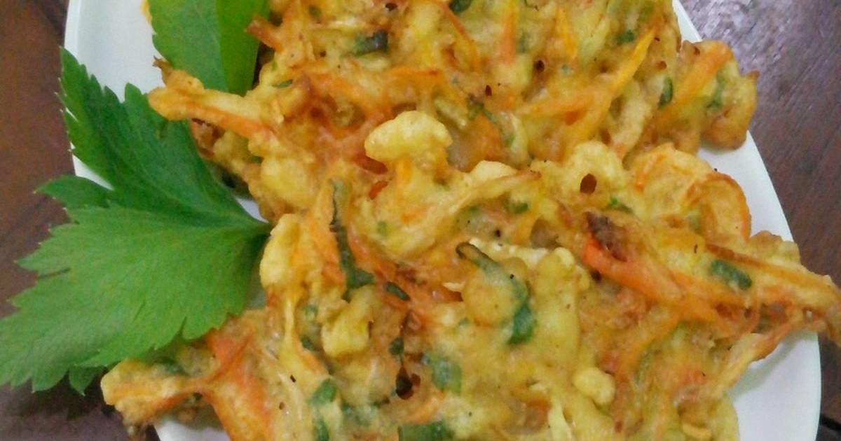 Resep Bakwan Sayur Kres Nyus Oleh Dinda Rizky Tan Resep Resep Makan Malam Resep Masakan Indonesia