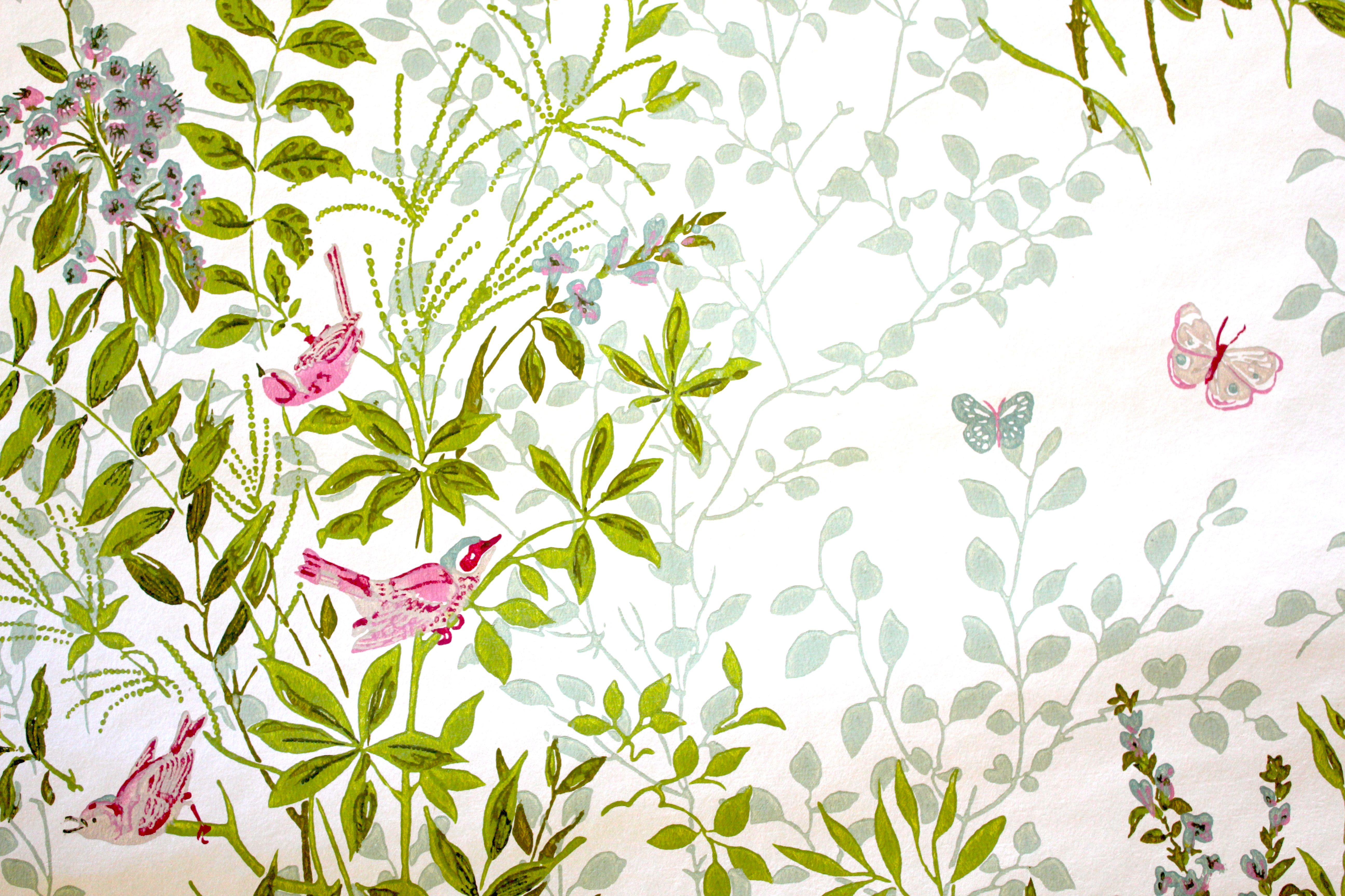 Nursery wallpaper, Baby nursery wallpaper, Victorian nursery