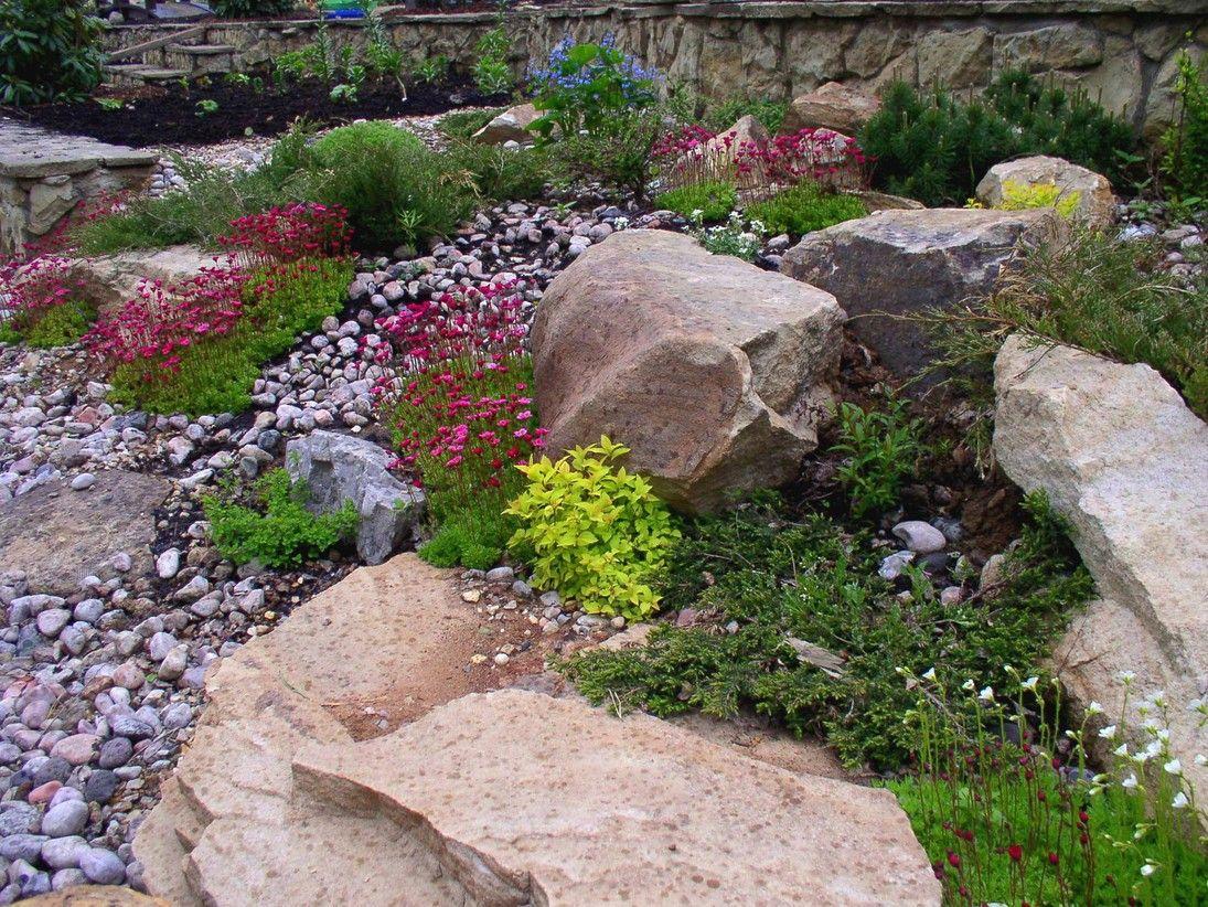 пусть камни в саду дизайн фотогалерея тоже