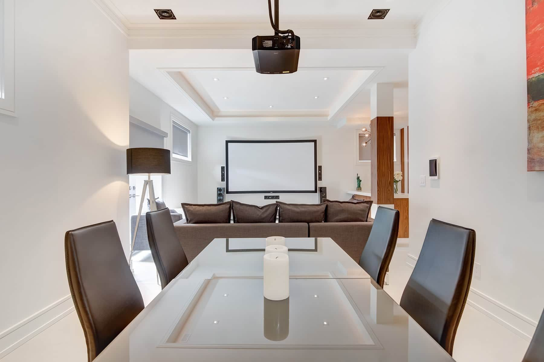 Home Theater Installation,7.2ch KEF In-Wall & In-Ceiling Speakers ...