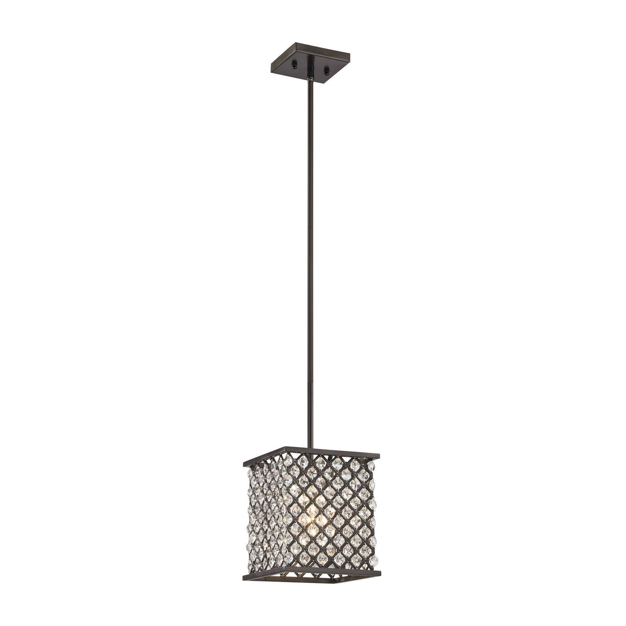 ELK Lighting 32101/1 Genevieve Collection Oil Rubbed Bronze Finish