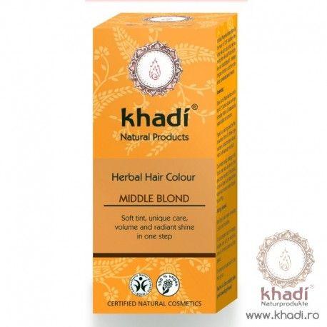 Henna Blond Mediu Vopsea De Par Khadi Tips And Tricks Herbal