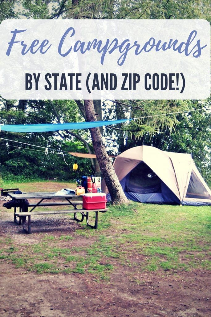 Free Campgrounds by State (and Zip Code!) - SHTFPreparedness
