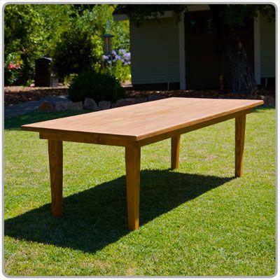 Pleasing Calistoga Dining Table 40 X 96 X 30 Simple Contemporary Machost Co Dining Chair Design Ideas Machostcouk