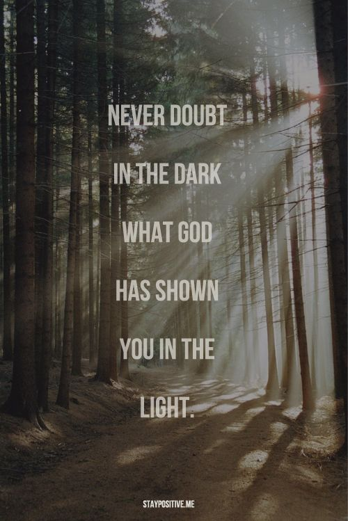 Never Doubt Him Quotes Pinterest Psalm 43 Daily Prayer And Amen