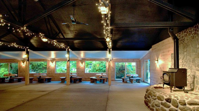 Portland oregon wedding venues camp turnaround boasts a restored portland oregon wedding venues camp turnaround boasts a restored 3000 sq ft junglespirit Images