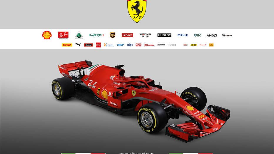 Ferrari Hopes To End Mercedes Dominance With New Sf71h F1 Entry With Images Racing Formula One Ferrari