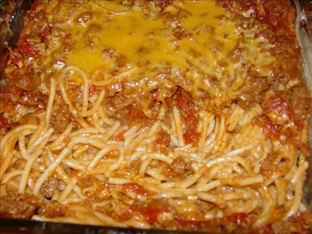 Mrs Geraldine S Ground Beef Casserole Recipe With